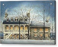 Symmes' Inn Acrylic Print by Catherine Holman