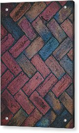 Symmetry  Acrylic Print by Kathy Malecki