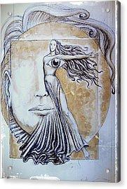Symmetry Acrylic Print by Paulo Zerbato