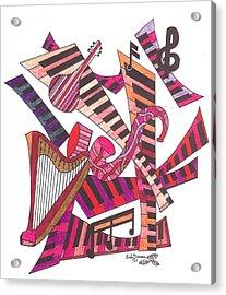 Symphony  Acrylic Print by Eric Devan