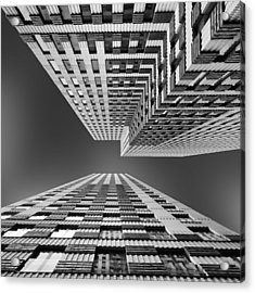 Symphony Acrylic Print by Jeroen Van De Wiel