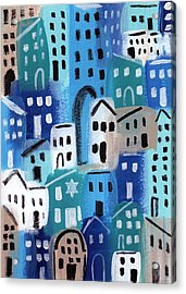 Synagogue- City Stories Acrylic Print