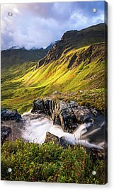Synclavier Foothills Acrylic Print