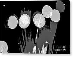 Synergy B/w Acrylic Print