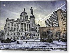 Syracuse Courthouse Acrylic Print