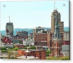 Syracuse, New York Acrylic Print by Debra Millet