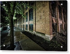 Acrylic Print featuring the photograph Syracuse Sidewalks by Everet Regal