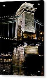 Szechenyi Chain Bridge Acrylic Print
