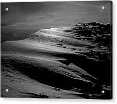 T-213312 Windblown Ice On Humphreys Peak Acrylic Print