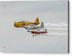 T-6 Texan   Rv-8   Dr-107 Acrylic Print