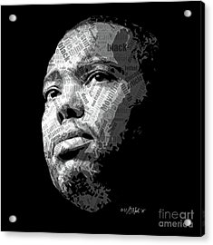 Ta-nehisi Coates Acrylic Print