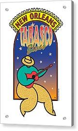 Tabasco Blues Acrylic Print by Steve Ellis