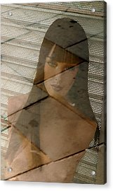 Tabatha Not Amused Acrylic Print by Jez C Self