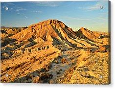 Tabernas Desert Almeria Spain Acrylic Print by Marek Stepan