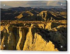 Tabernas Desert Spain Acrylic Print