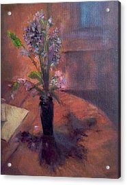 Table Flowers #1 Acrylic Print by Brian Kardell