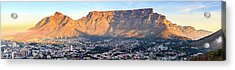 Acrylic Print featuring the photograph Table Mountain by Alexey Stiop