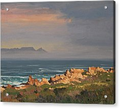 Table Mountain From Clarens Drive Acrylic Print