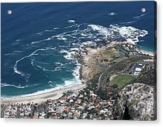 Table Mountain View Acrylic Print by Andrei Fried