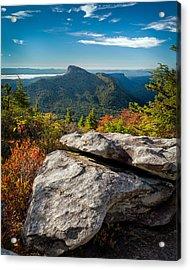 Table Rock Fall Morning Acrylic Print