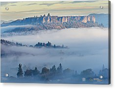 Table Rock Morning Acrylic Print
