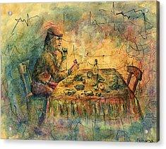 Table Acrylic Print