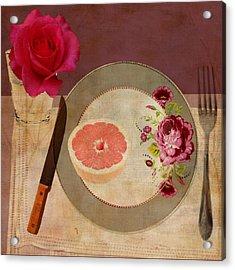 Tablescape Acrylic Print