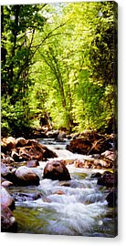 Tabor Branch Of The Waits River Acrylic Print