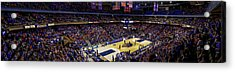 Taco Bell Arena And Boise State Basketball Acrylic Print by Lost River Photography
