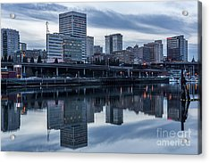 Tacoma Waterfront,washington Acrylic Print