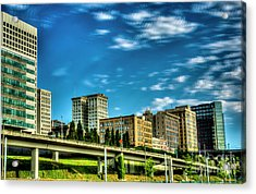 Tacoma,washington.hdr Acrylic Print