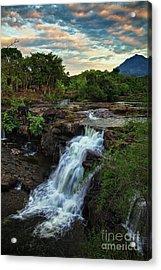 Tad Lo Waterfall, Bolaven Plateau, Champasak Province, Laos Acrylic Print