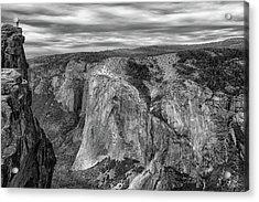 Taft Point And El Capitan Acrylic Print