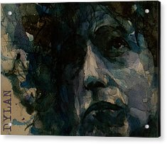 Tagged Up In Blue- Bob Dylan  Acrylic Print
