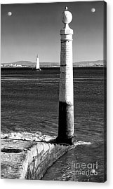 Tagus River View Acrylic Print by John Rizzuto
