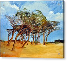 Tahiti Beach -st. Tropez Acrylic Print by Rainer Jacob