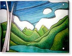 Tahitian Treat Acrylic Print by Jason Charles Allen