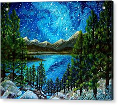 Tahoe A Long Time Ago Acrylic Print
