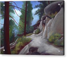 Tahoe Flume Trail Acrylic Print