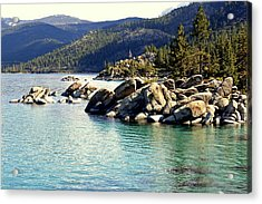 Acrylic Print featuring the photograph Tahoe Morning by Lynn Bawden