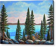 Tahoe Shore Acrylic Print