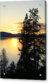 Acrylic Print featuring the photograph Tahoe Sunset by Lynn Bawden