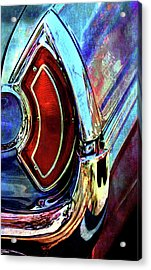 Acrylic Print featuring the digital art Tail Fender by Greg Sharpe
