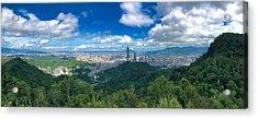 Taipei Panorama Acrylic Print
