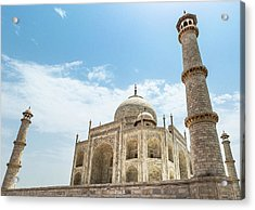 Acrylic Print featuring the photograph Taj Mahal by Chris Cousins