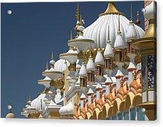 Taj Mahal Acrylic Print by Living Color Photography Lorraine Lynch