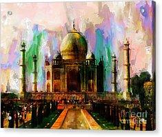 Taj Mehal 009 Acrylic Print
