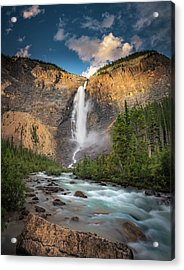 Acrylic Print featuring the photograph Takakkaw Falls Of Yoho National Park by William Lee