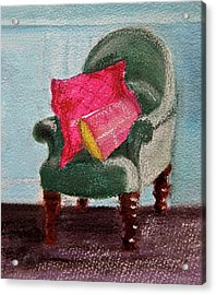 Acrylic Print featuring the painting Take A Rest by Linde Townsend