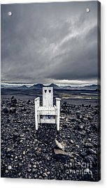 Acrylic Print featuring the photograph Take A Seat Iceland by Edward Fielding